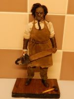 1:6 custom 2003 Leatherface Hewitt. by Joel237