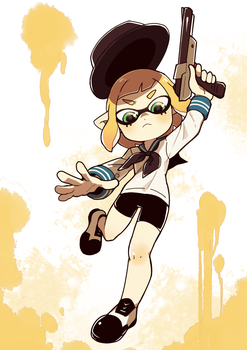 SPLATOON 2 by BoarsBoarsBoars