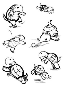 Turtle Sketches by ursulav