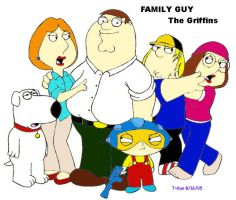 Family Guy - The Griffins by elitedragongoku