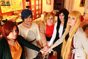 Sailor Moon - Together by CherryMemories