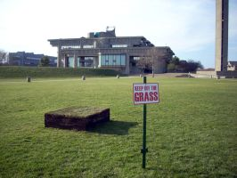 Keep off the Grass by cranstonide