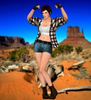 Mila(Explorer mod) Dead or Alive 5 Last Round. by XKamsonX