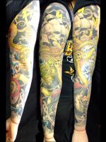 Fayrie's Pirate Sleeve by mxw8