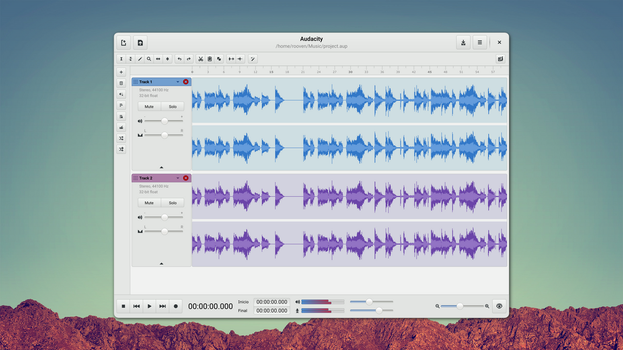 Audacity Redesign by rooven