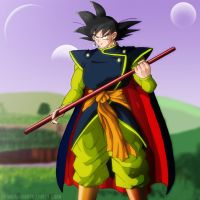 Collab - Mystic Goku by Patty-Chan