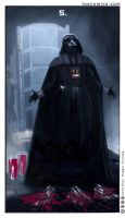 Star Wars Tarot: The Five of NNNNNNNNOOOOOOOOO!!!! by theory-of-everything