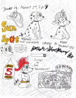 SunSpot The Cool Dalmatian [SunSpot Ice Treats] by Josiah-Shockency-JCS