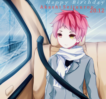 HAPPY BIRTHDAY AKASHI-KUN! by Hiru-Kyun
