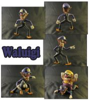 Weekly Sculpture: Waluigi by ClayPita
