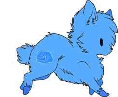 Water Wolf Adopt by Prettyxmouse