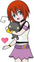 Kairi chibi Heartless :3 by Okyu