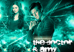 The Doctor and Amy Blend by feel-inspired