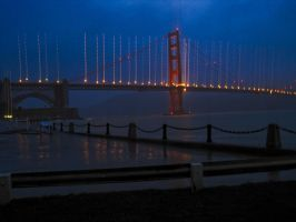 Golden Gate Bridge Artifacts by InFunkWeTrust