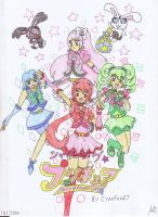 Shining Pretty Cure Poster by Manga-Magician-Girl1