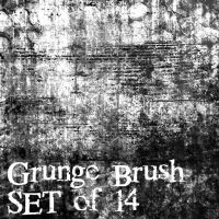 GRUNGE BRUSHES by TWISTED--refractions