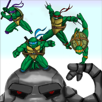 Heroes In A Half Shell! by Tigueron