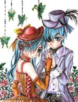 Ciel X Ciel by chicharrria