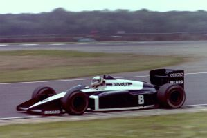 Andrea de Cesaris (Great Britain Tyres Test 1987) by F1-history