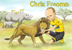 Chris Froome by harakirimushi
