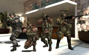 Spetsnaz Zombie Hunter Team by Kommandant4298