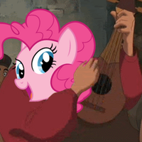 Pinkie Pie is best at Ukelelelele by DethLunchies