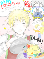 Happy b-day prussia by Chimneey