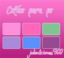 estilos para photoshop #4 by juliediciones900