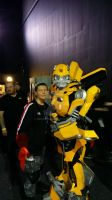 YCC 7 2015 - Me and Bumblebee by demon1993