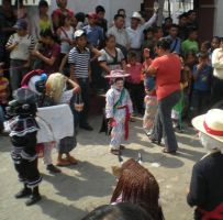 Kids traditional dancers by Flyerscurse