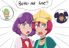 Better Not Lose!! by CilanceYourButt
