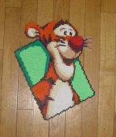 Hama Beads - Tigger by acidezabs