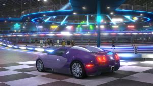 Bugati Veyron - Kart Space 2/2 by angelneo107