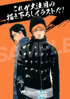 BLEACH MANGA CALENDER 2013 sample by KidRou