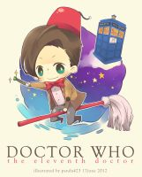 [DOCTOR WHO] the 11th doctor by panda423