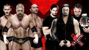 WWE Extreme Rules 2014 - 6 Man Tag Team Match by angelmj06