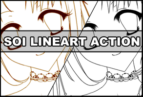 Soi Lineart action by Faeth-design
