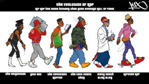 The Evolution of Rap by ANGELDRIVER
