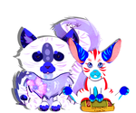 Baby Bunny Love by Miranthia