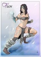 Commission: Floy by StefanoMarinetti