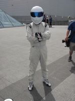 London MCM Expo - Top Gear The Stig Cosplayer by DoctorWhoOne