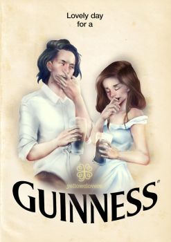 Guiness by YellowClovers