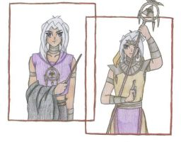 Ring Bearer, Marik Ishitar by SkylaDoragono