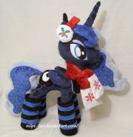 Christmas Princess Luna by calusariAC