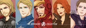 The Avengers Collection Card Set by oTEMARINo