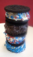 oreo ice cream stack by Brookette