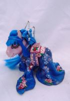 My little pony custom geisha Misuki by AmbarJulieta