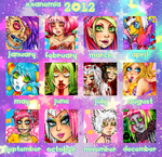 Summary of art 2012 by XXAnemia