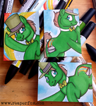 ACEO Commissions for Uncle Fergus! by reaperfox