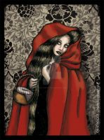Little Red Riding Hood by LaTaupinette